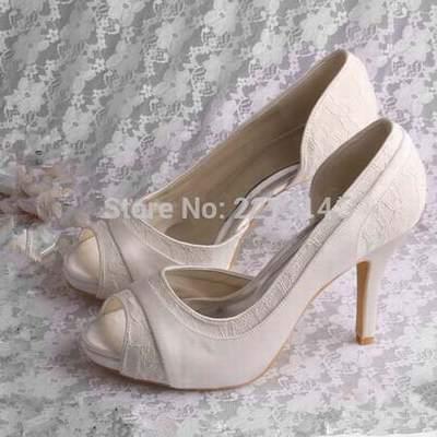 abc7a6de28206a Chaussure Mariee Mariee Mariee Ivoire Besson chaussures Marque Ivoire  chaussures